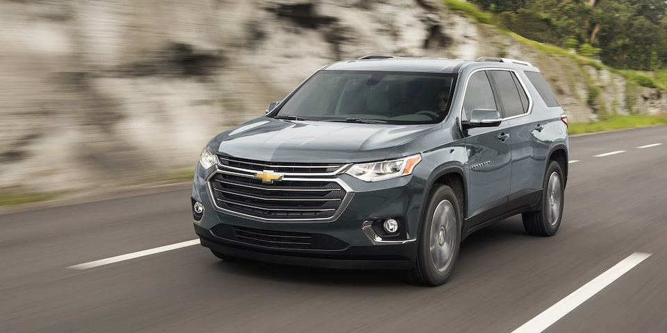 Chevrolet Traverse 2020, camioneta familiar con potencia de 305 HP, sistema Stop/Start y luces LED para manejo diurno
